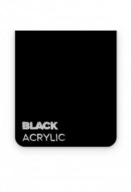 FLUX - Acrylglasplatte - Beamo - Black