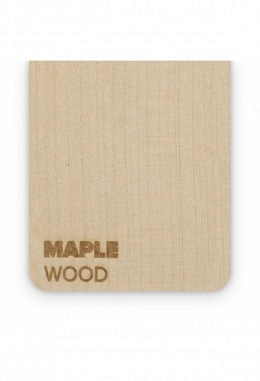 FLUX - Holzplatte - Beamo - Maple