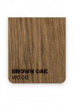 FLUX - Holzplatte - Beamo - Brown Oak