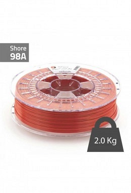 Extrudr - TPU - Red - 2.85mm - 2  kg